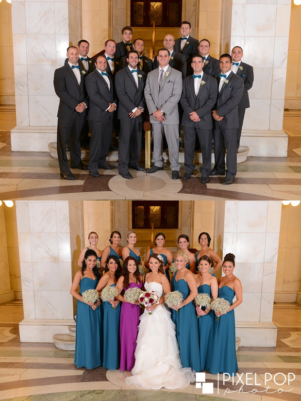 Mahoning County Court House,Mt Carmel,Mt. Carmel Banquet Hall,St. Dominic's Church,Youngstown wedding photographer,downtown Youngstown,