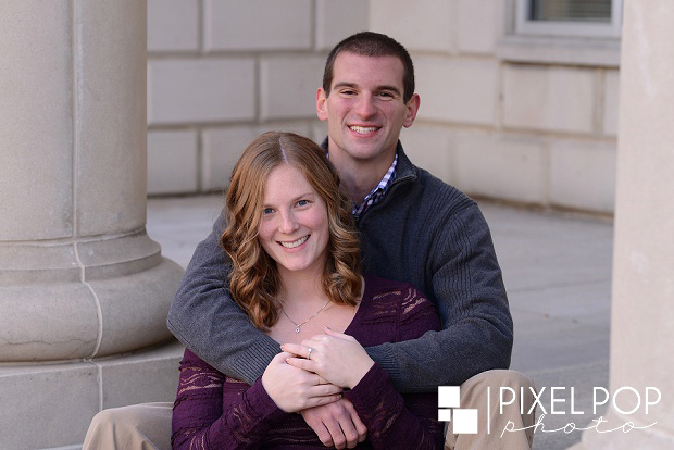 Youngstown wedding photographer,downtown Youngstown,downtown Youngstown engagement session,winter engagement session,