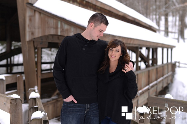 Fellows Riverside Gardens,Lanterman's Mill,Lanterman's Mill engagement session,Mill Creek Park,The B&O Station,The Rose Gardens,The Rose Gardens engagement session,Youngstown wedding photographer,winter engagement session,