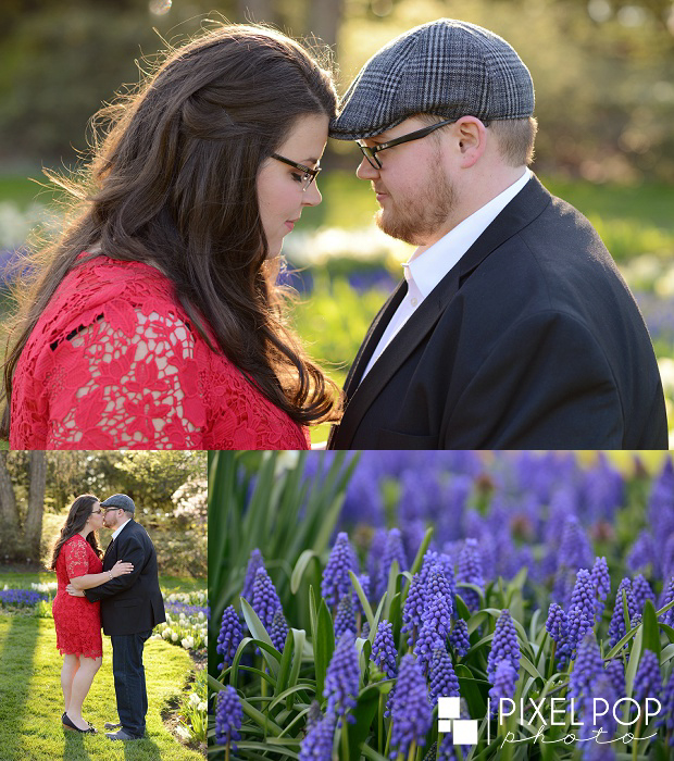 Fellows Riverside Gardens engagement session,Mill Creek Park engagement session,Pixel Pop Photography,The Rose Gardens engagement session,Youngstown engagement session,Youngstown spring engagement session,Youngstown wedding photographer,boardman wedding photographer,