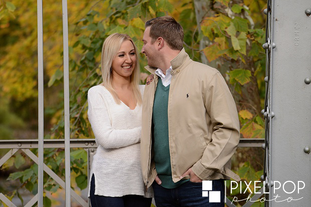 Boardman wedding photographers,Cinderella Bridge engagement session,Lanterman's Mill engagement session,Mill Creek Park engagement session,Pixel Pop Photo,Pixel Pop Photography,Silver Bridge Mill Creek Park engagement session,Youngstown fall engagement session,Youngstown wedding photographers,fall engagement session,
