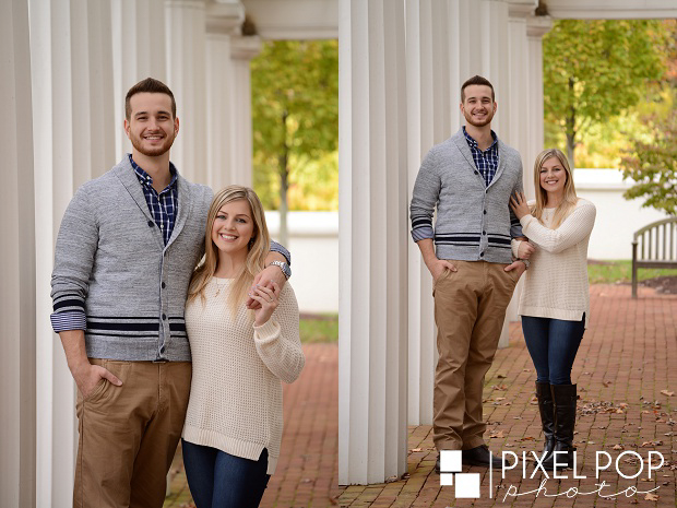 Pixel Pop Photo,Pixel Pop Photography,Poland Library engagement session,Poland woods engagement session,Youngstown engagement,Youngstown fall engagement session,