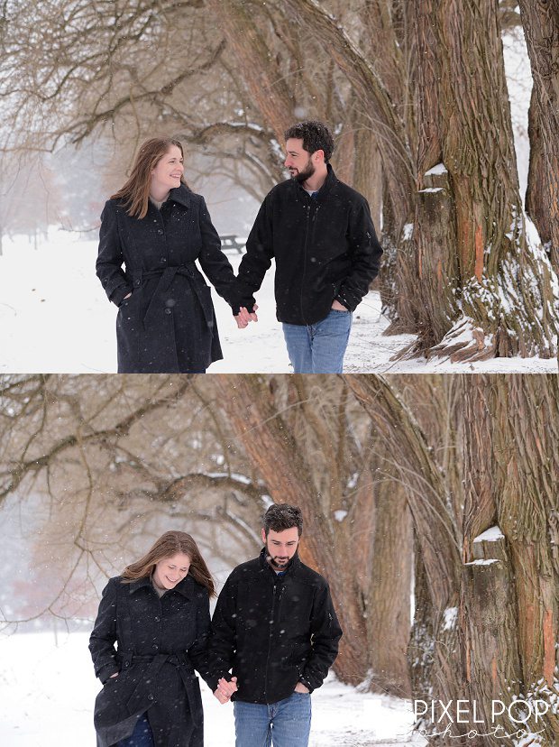 Boardman Park engagement session,Boardman dog photographers,Boardman wedding photographers,Pixel Pop Photo,Pixel Pop Photography,Youngstown dog photographers,Youngstown engagement session,Youngstown wedding photographers,Youngstown winter engagement session,